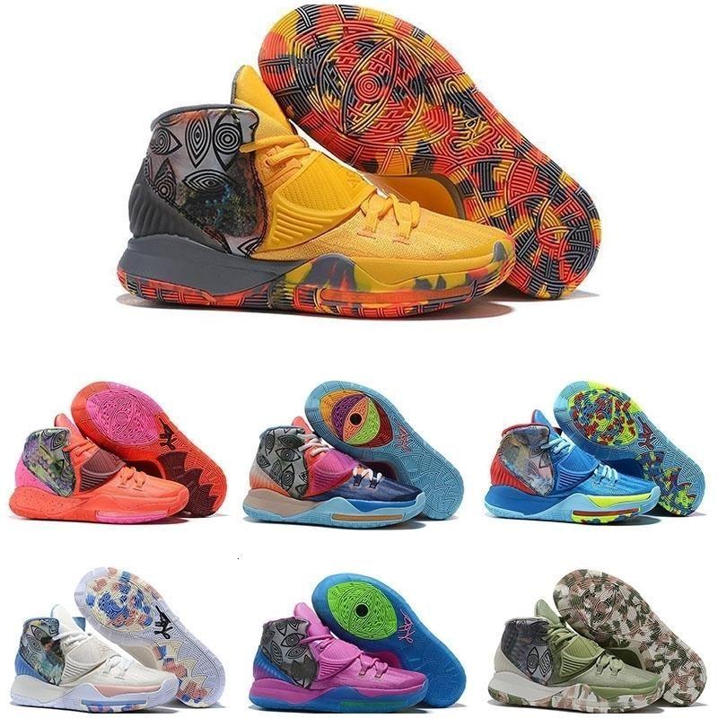 6 Basketball presse Enfants Kyrie Nyc Vente Sneaker Kyrie Sport Miami Houston Heal the Shoes Monde