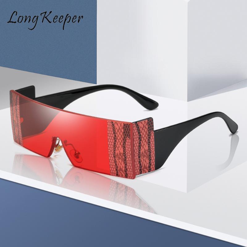 Oculos Big Vintage Snake Snake Eye Stripe Stripe Cat Hommes Femmes Cadre Fashion Lunettes De Soleil Sunglasses Shades Uv400 Lunettes Rétro 2020 LDQPG