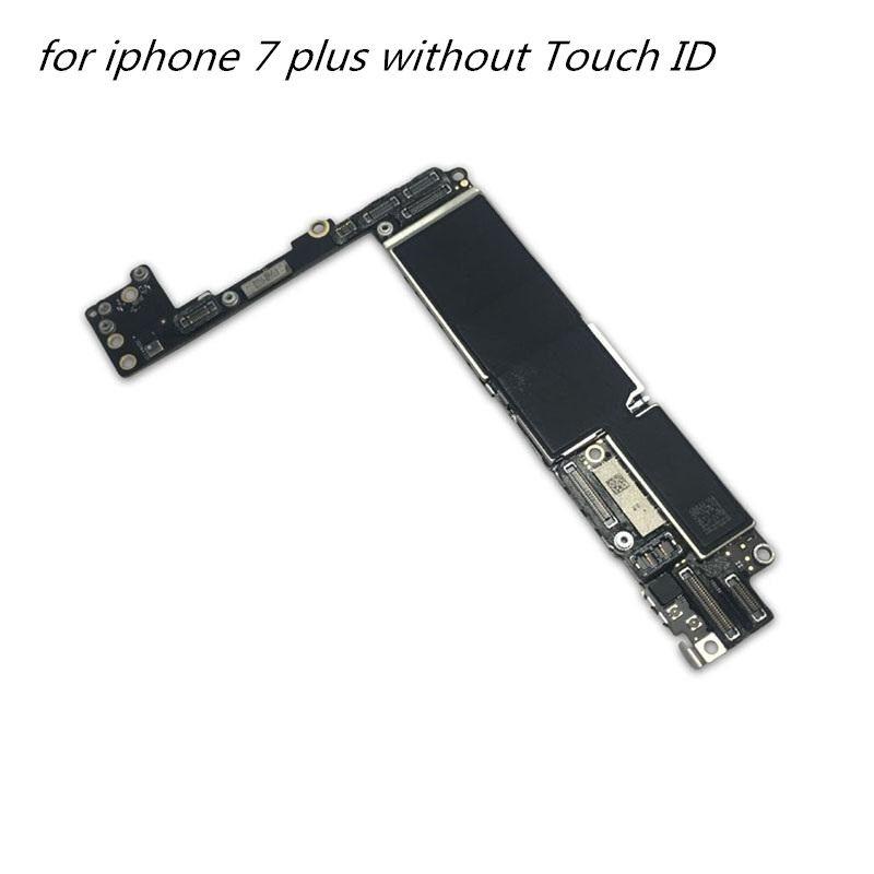 2020 Handy-Motherboard Teile für iphone 7 und ohne Touch-ID entriegelte Mainboard für iPhone 7 und Logic Board 1PCS