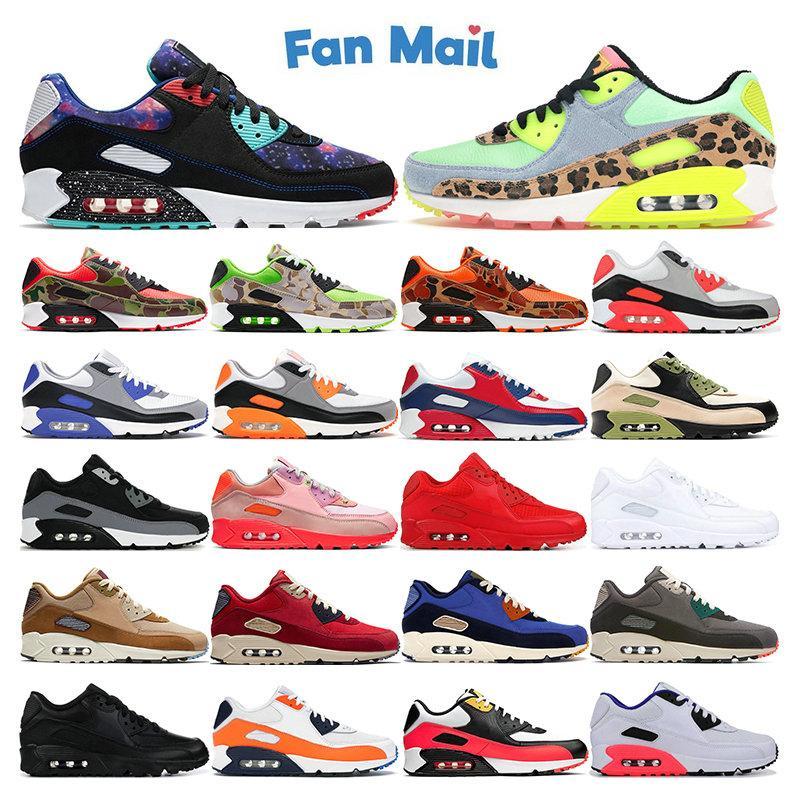 Top New 90 Mens Sneakers Scarpe da corsa DanceFloor Green USA Supernova Camo Verde Arancione Oliva Bianco Bianco Red Womens Sport Trainer all'aperto