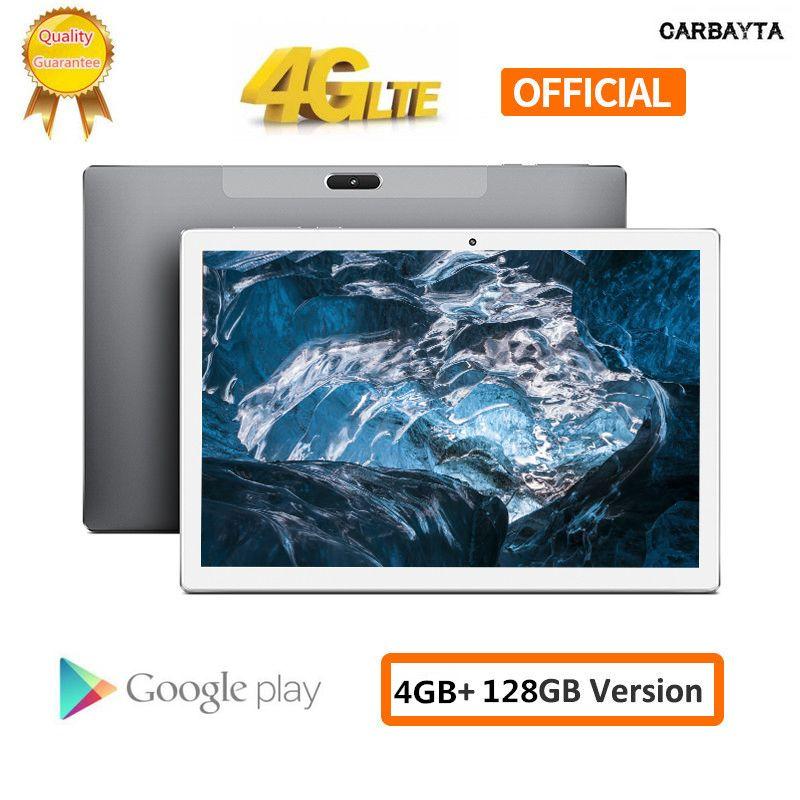 In 64GB TF-Karten-Tablets PC 10 Zoll Andriod 8.0 1920 * 1200 Deca Core-MTK6797 4 GB RAM 128 GB ROM-Typ-C GPS Wifi Unterstützung PUBG Spiel