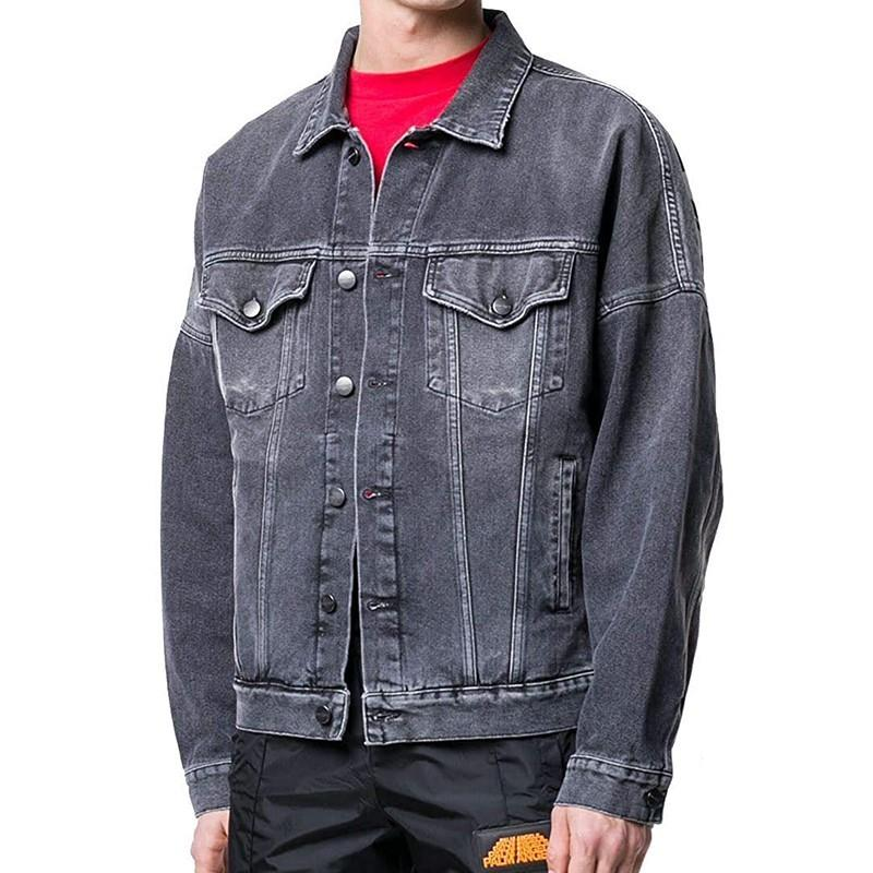 2020 New motorcycle Letter printing denim jacket high fashion famous bomber Denim Slim windbreaker jacket Mens jean clothing