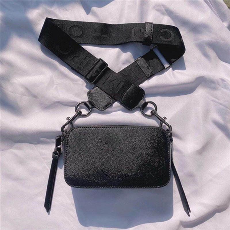 2020 새로운 핫 판매 여성의 소 가죽 작은 사각형 가방 넓은 어깨 스트랩 크로스 바디 가방 패션 간단한 핸드백 여성의 스타일의 카메라 가방