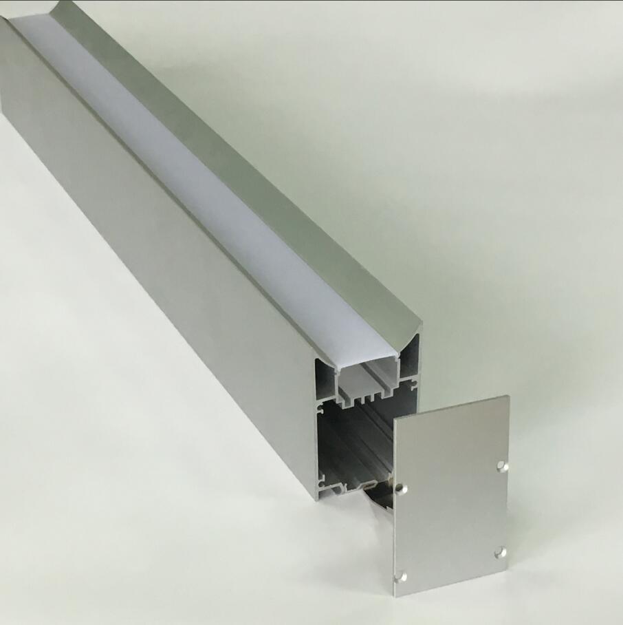 cgjxs Atacado carcaça de alumínio Suspenso / pendente Drywall Led lineares Luz da caixa 1 .2m / Pcs ou 1 .8m / Pcs