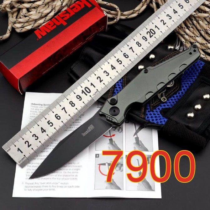 Nuovo Kershaw 7900 lama tattica automatico Fold singola azione Pocket knife CPM154 7800 coltello 7600 7550 Outdoor Self Defense Salvataggio Sopravvivenza