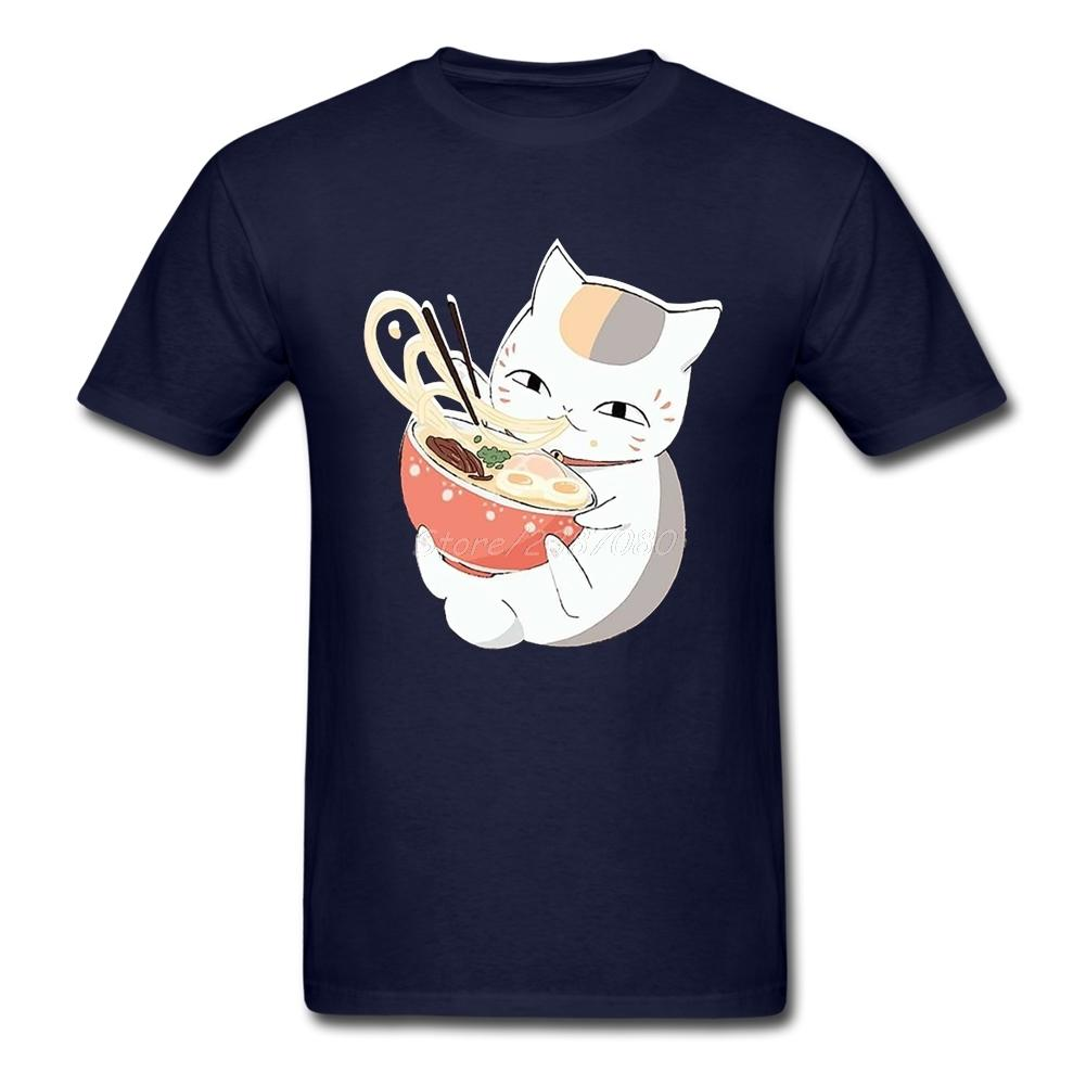 Natsume Yuujinchou T Shirt Short Sleeve Men's Shirt New Style Vintage XXXL Cotton Clothes For Men