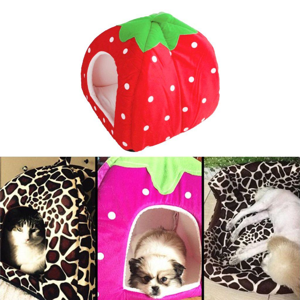 Los Mascotas Cama Casa Cueva de la perrera del cojín amortiguador del Nido cesta para Puppy Gatito Animales Pequeños perro gato mascota