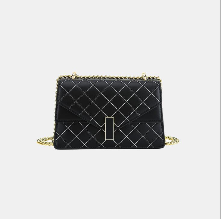 Frauen Schulter Kleine Damen Einzelne Kette Crossbody Square Tasche Messenger Bag Brieftasche Kleine Geldbörse NBBLC