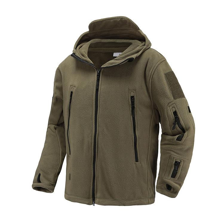 New Winter US UK Army Fleece Tactical Jacket Men Thermal Warm Hooded Coat Outdoors Pro Softshell Hike Outerwear Army Jackets