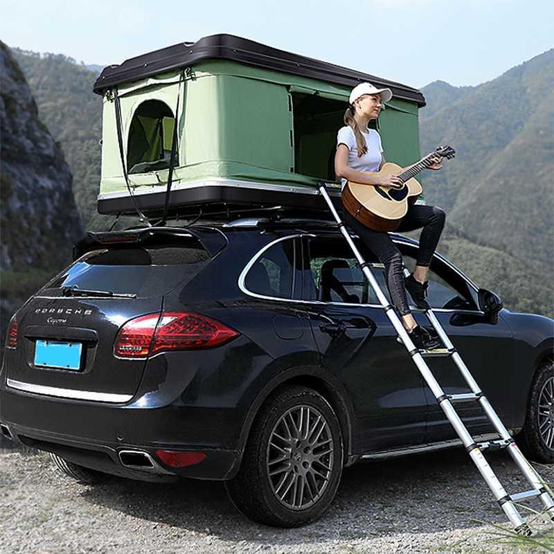 الخيام والملاجئ في الهواء الطلق تخييم خيمة السيارة، خيمة السقف التلقائي
