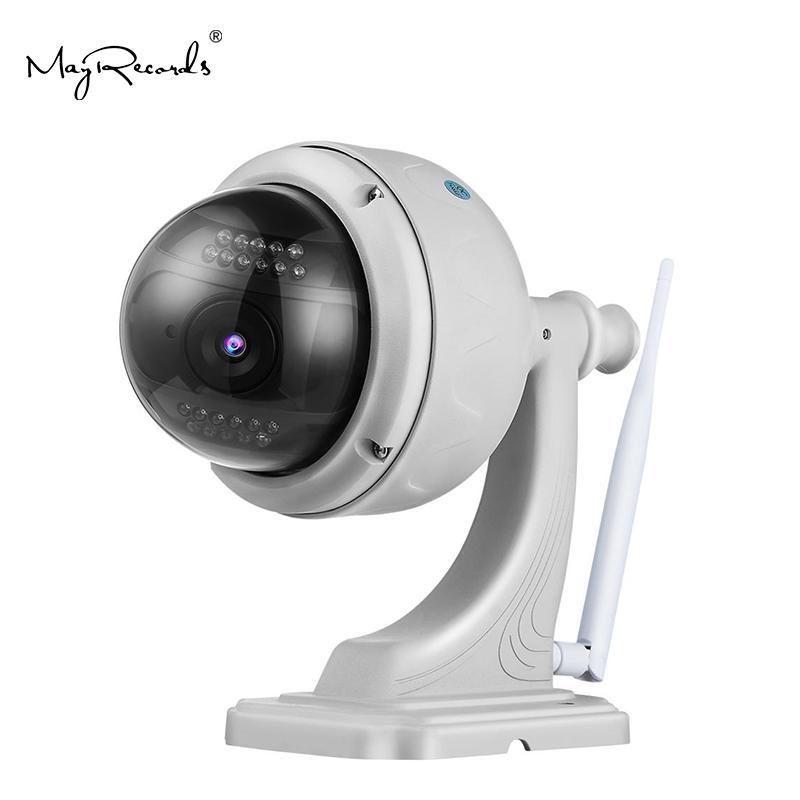 Cámara inalámbrica de vigilancia IP a prueba de agua al aire libre 1080P Wanscam K38 rotativo PTZ cámara 2.0MP 4X