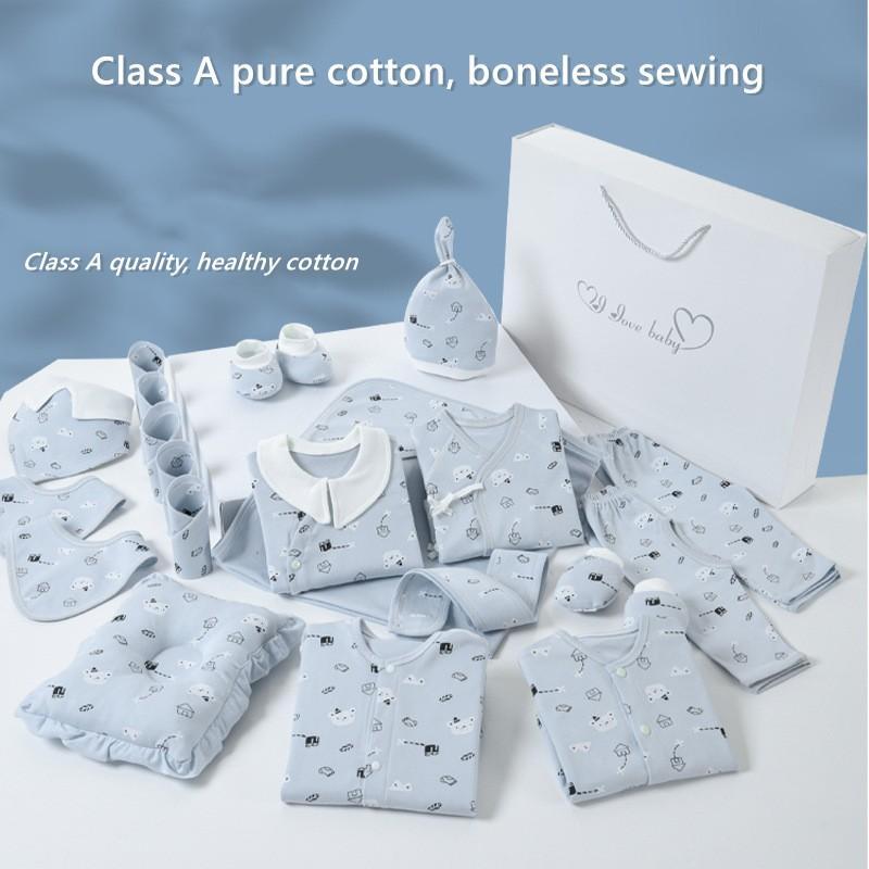 Новорожденных Baby Girl Boy одежда Set 100% хлопка младенца подарка Одежда Костюм для новорожденных Мальчик одежда Костюм девушки Одежда Нижнее Нет Box