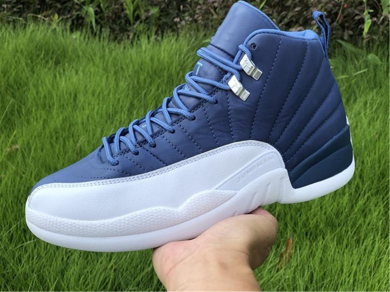 12 Indigo 12s Mens Basketball shoes Mans Trainers Designer Fashion Sports Sneakers US7-13