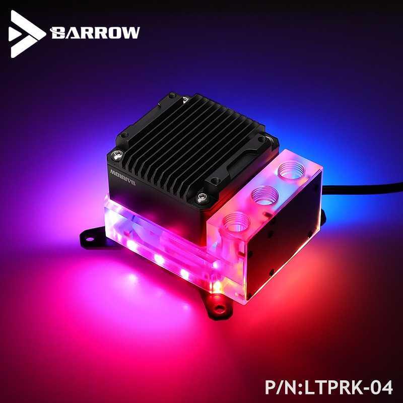 Barrow CPU Water Block Combo 17W PWM Pump For INTEL ,AMD AM3 AM4,X99 X299 Platform, Integrated Watercooler Kit , LTPRK-04