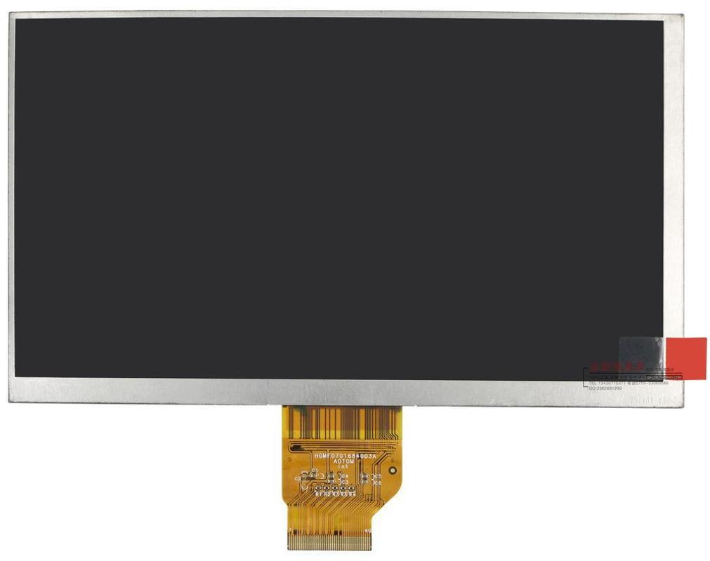 New 7 polegadas 40pin 1024X600 codificação original: tela LCD HG MF0701684003A Tablet PC