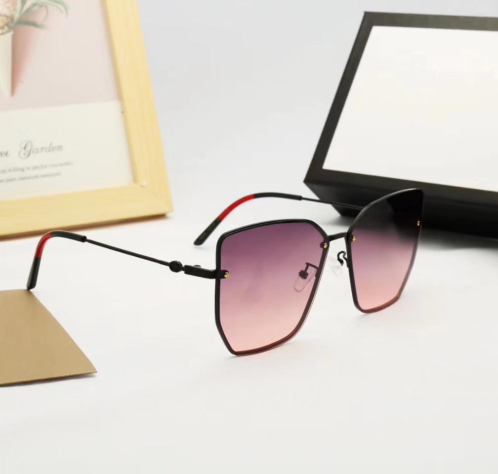 جديد مصمم أزياء النظارات الشمسية حجم الإطار مربع الطليعية شعبية أسلوب الرجعية لون فاتح النظارات الشمسية الزخرفية GG7905S أسلوب شعبية