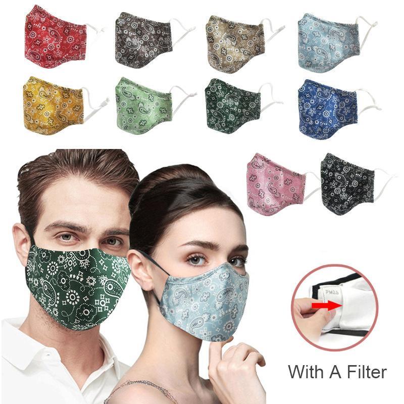 Moda de la margarita 3D cara diseñador de la impresión de la máscara permite modificar el polvo máscara protectora y la neblina con mascarillas de filtro transpirable transfronterizas DWB746