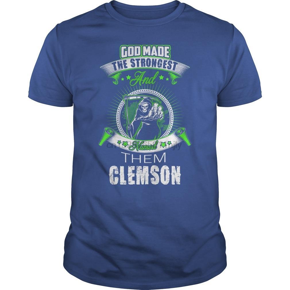 Clemson Yıl CLEMSON LadiesTee tişört Erkekler Baskılı Tişört tee top soğutmak