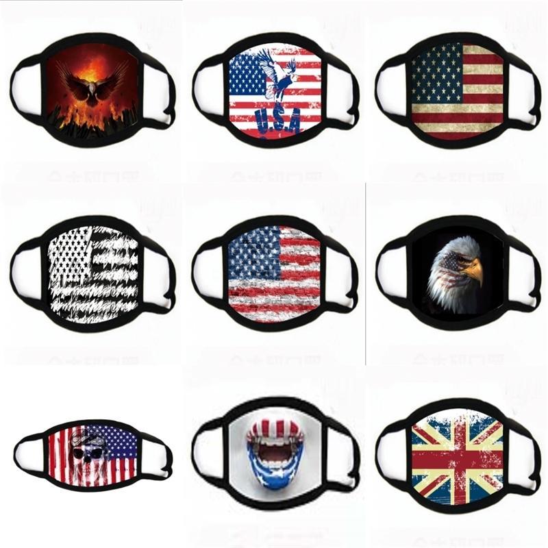 Styles s Gesicht mit 22 Transparent-Augen-Schild Waschbar Wiederverwendbare Baumwolle Mund-Maske Staubdichtes Kinderschutzmasken Zza2400 # 745