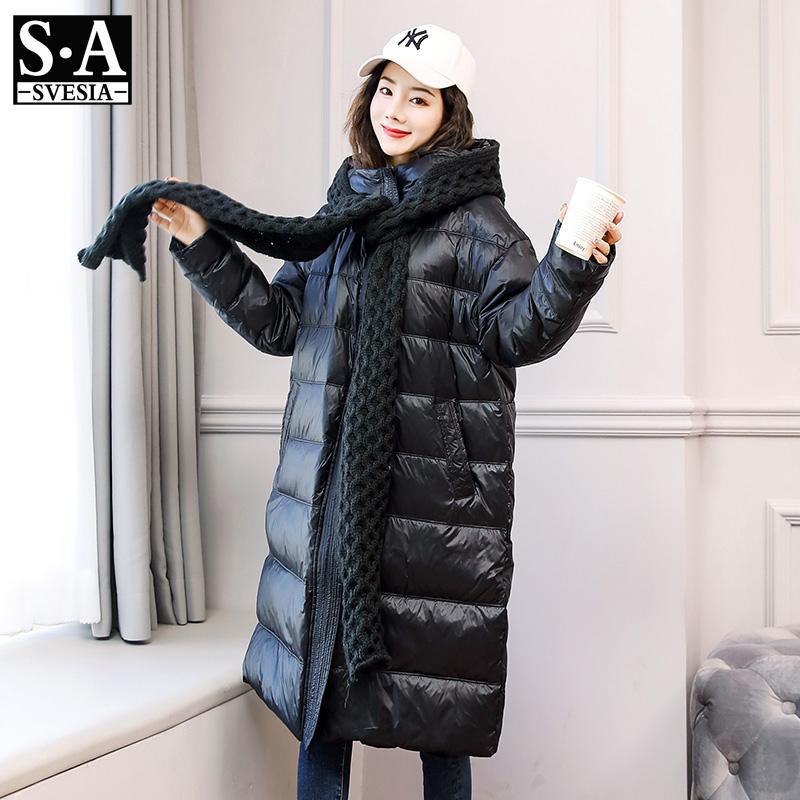 Женские Parkas 2021 Пальто куртки Свободный темперамент Универсает мода Тонкие длинные куртки пальто