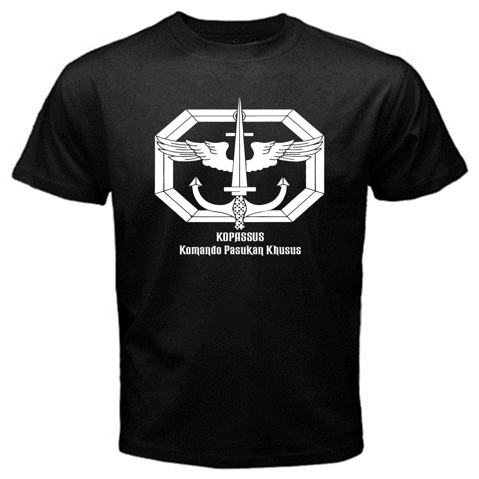 Kopassus Indonesien besondere Kraft Boden Kommando T-Shirt Basic Tee
