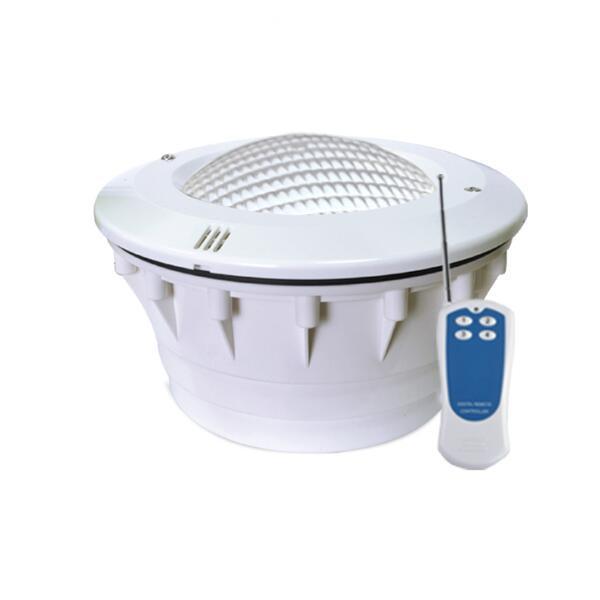 24 وات LED حمام سباحة الضوء IP68 للماء 12V RGB 333 المصابيح في الهواء الطلق حديقة الإضاءة تحت الماء بركة مع البعيد لاينر تجمع CE بنفايات