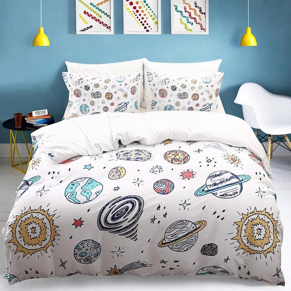 home textile Queen King bed set Bedclothes Quilt Cover Pillow case duvet cover sets digital printing Home comforter bedding set mW93#