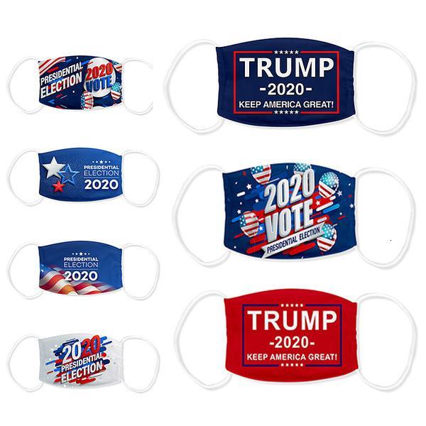 Los EEUU adultos Elección Trump anti-Haze para prueba de polvo 18 lavable y transpirable Máscara envío vía joho546
