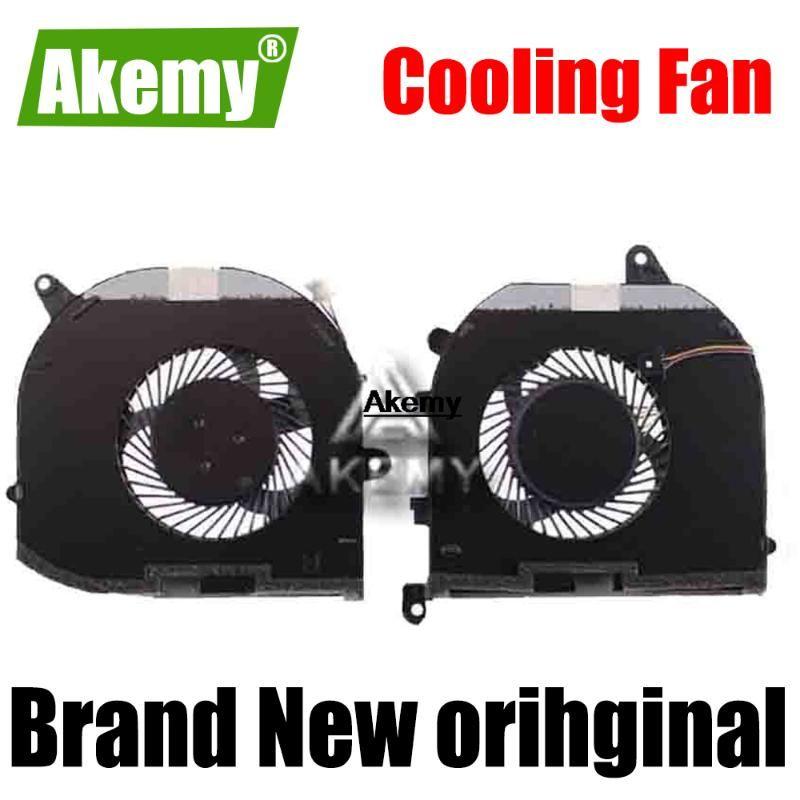 Новый GPU Оригинальный CPU вентилятор охлаждения для XPS 15 9570 Precision M5530 5530 вентилятор Cooler 08YY9 TK9J1 DC 5V 0.5A MV340 0MV340
