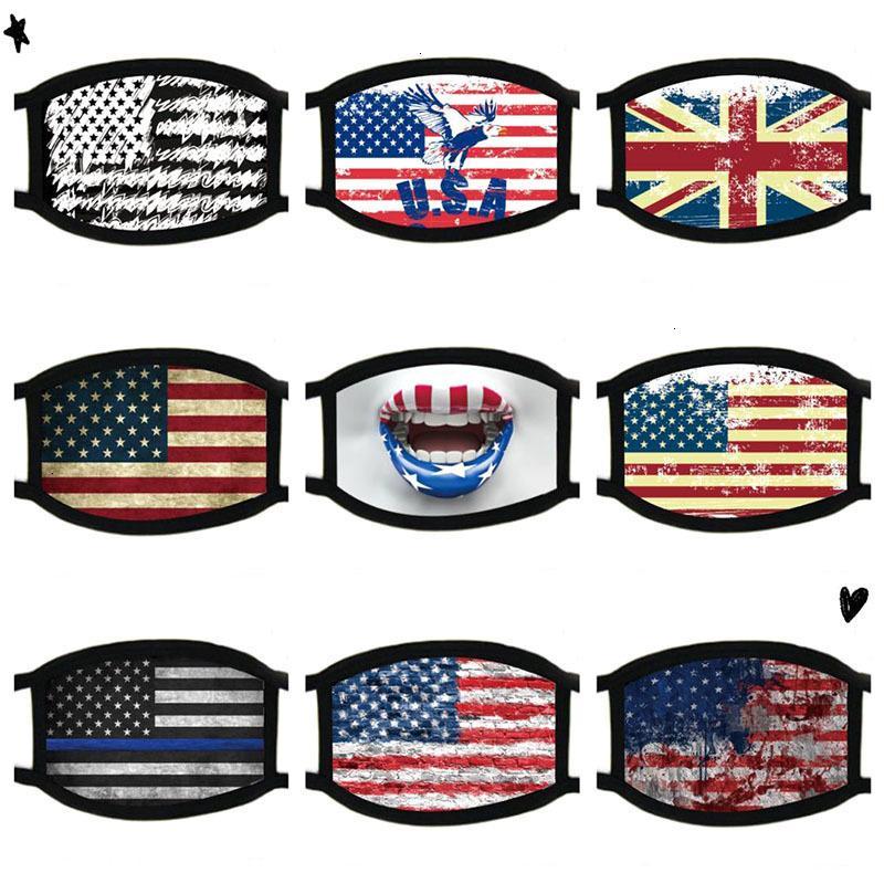 Supplies Gesicht Wahl Masken Staubdichtes Trump Print Outlet allgemeinhin für Männer und Frauen-Flagge Maske freies Verschiffen