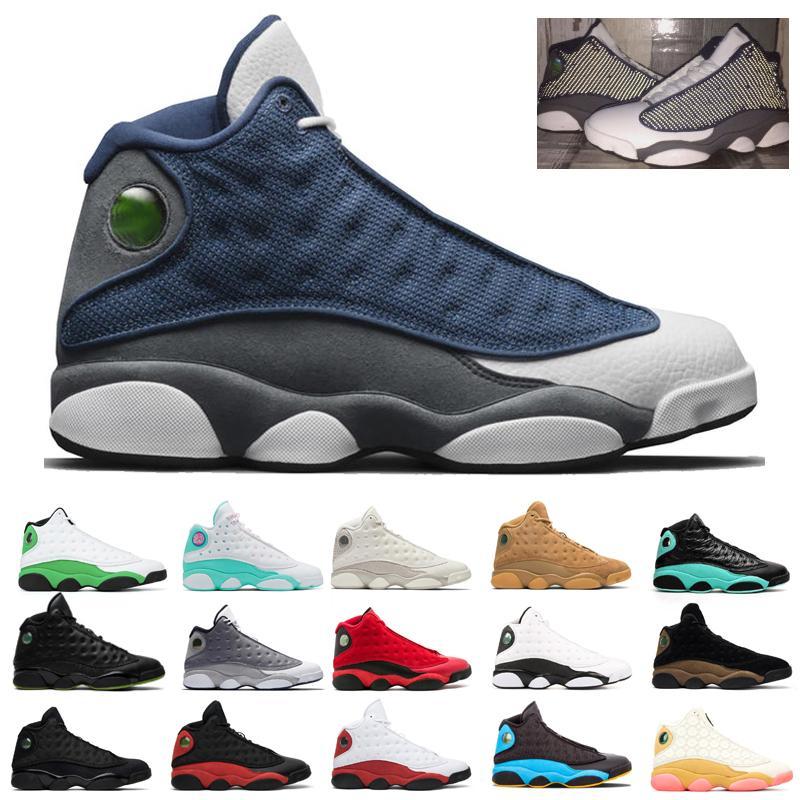 13 13S الأحذية فلينت فرط الملكي الرجال لكرة السلة ملعب فانتوم عكسي ولديك لعبة الأسود الرجال القط المدربين الرياضية حذاء 36-47