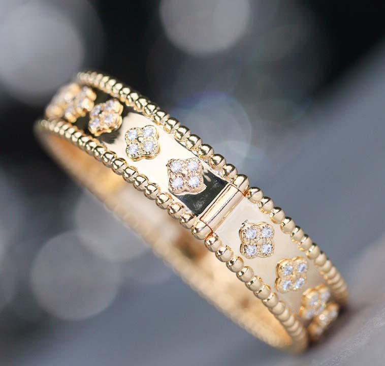Top Qualität S925 Silber Runde Halskette mit Diamanten und Blumen-Design in Silber und 18 Karat Roségold Farbe Frauen Hochzeit Schmuck Geschenk