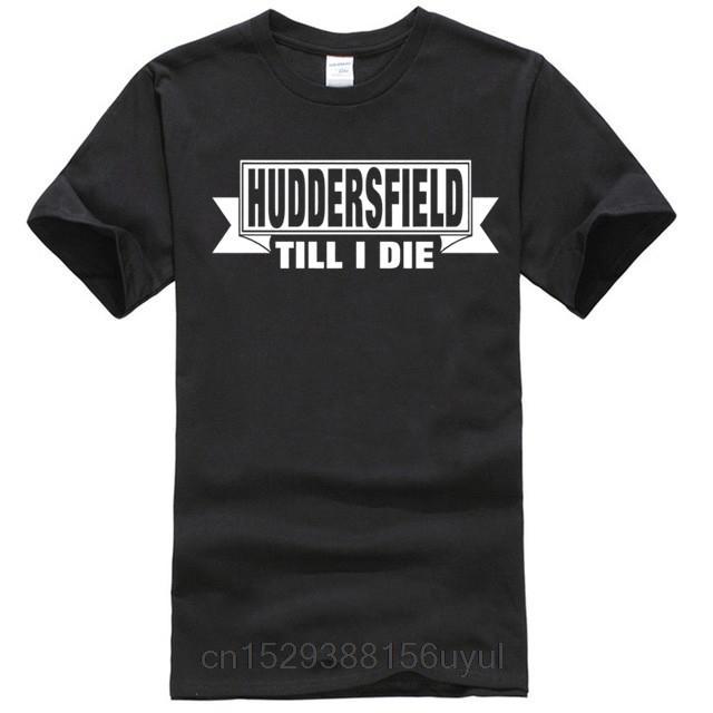 Tişörtlü HUDDERSFIELD Futbol Mavi Gömlek Yetişkin Erkek (I Die Till) KİŞİYE