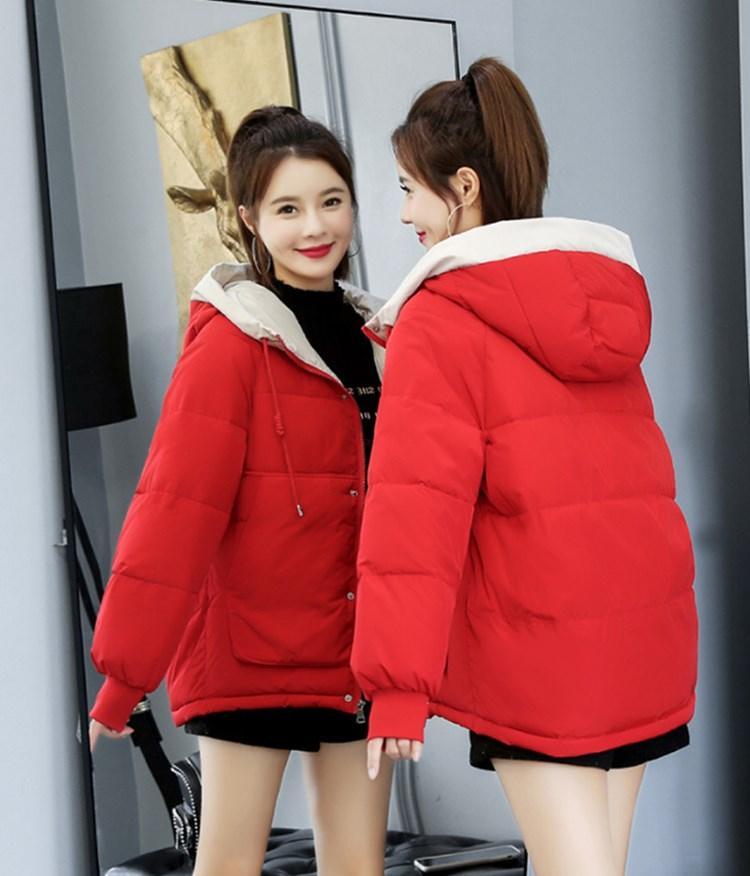 Caliente de lujo del diseñador de venta por las mujeres chaqueta acolchada corto invierno 2020 nueva moda europea pan Americana acolchada chaqueta suelta la capa encapuchada