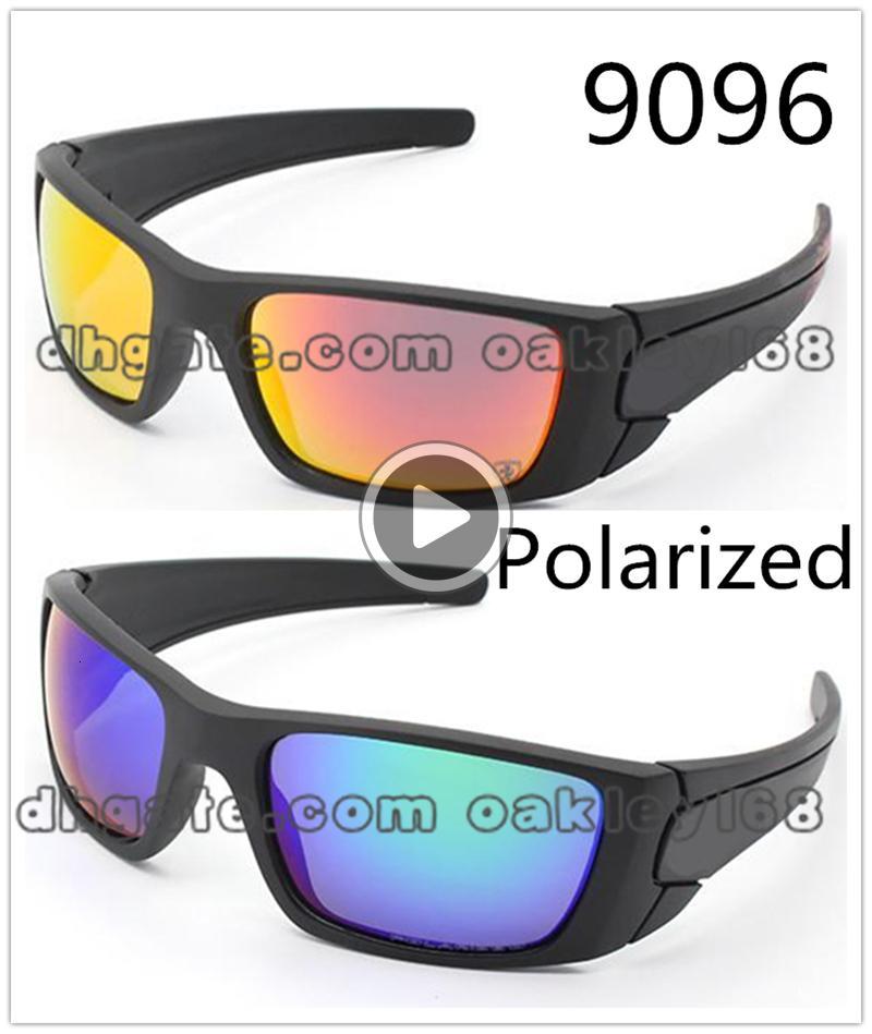 La manera caliente Deportes COMBUSTIBLE LL 9096 gafas de sol polarizadas de la resaca no resbalón de las gafas de sol de marca para hombre Dener gafas de sol para los hombres