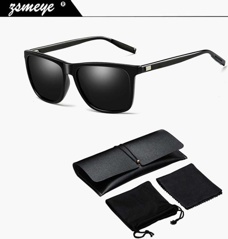 Zsmeye Marke 2020 Klassische Sonnenbrille Polarisierte Töne UV400 Qualit High Goggles Gafas Antriebsspiegel Männliche blaue Männer HD Red Gläsern Jtonm