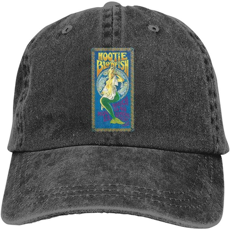 Hootie und The Blowfish Adult klassischer Baseball Sunbonnet Weinlese-justierbarer Casquette-Kappe Schwarz