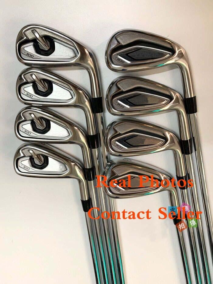 Fast DHL T-300 Irons de golf 4,5,6,7,8,9, P, 48 degrés Wedge 10 Boney Arbre disponible Real Photos Contact Vendeur
