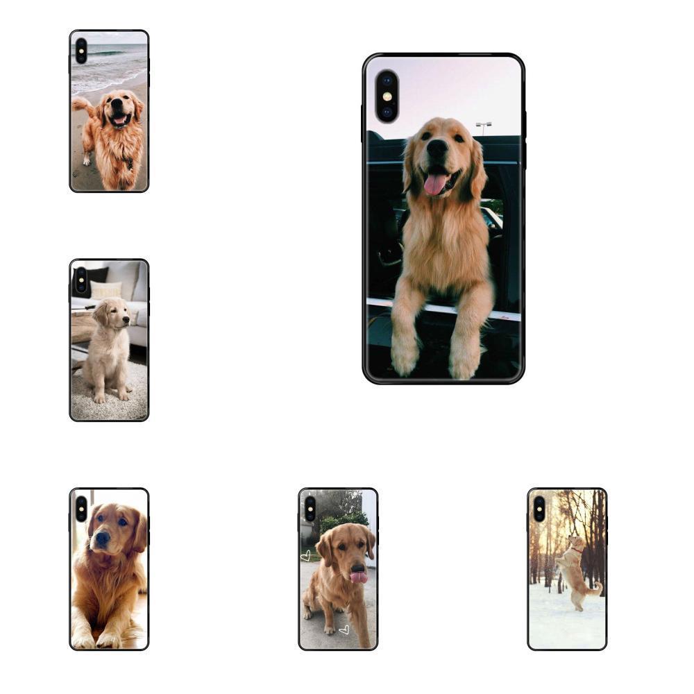 Golden Retriever Para a Apple iPhone 11 12 Pro 5 5S SE 5C 6 6S 7 8 X XR XS Além disso Max Top detalhada Caso Popular