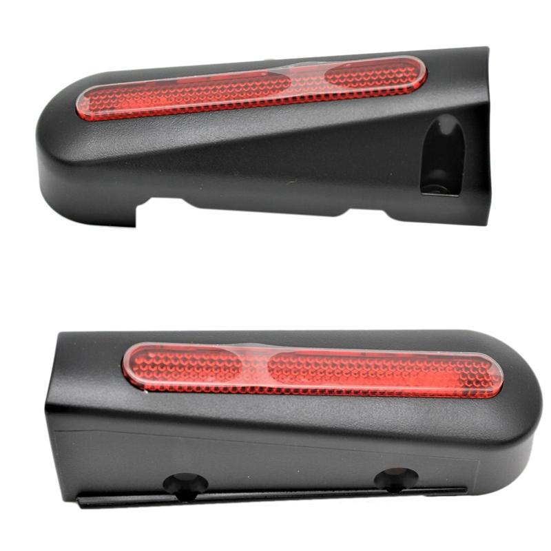 2x LED заднего вилок свет для NINEBOT ES2 ES4 Смарта электрического самоката складного Hover Skate Board Light Accessories Left Right