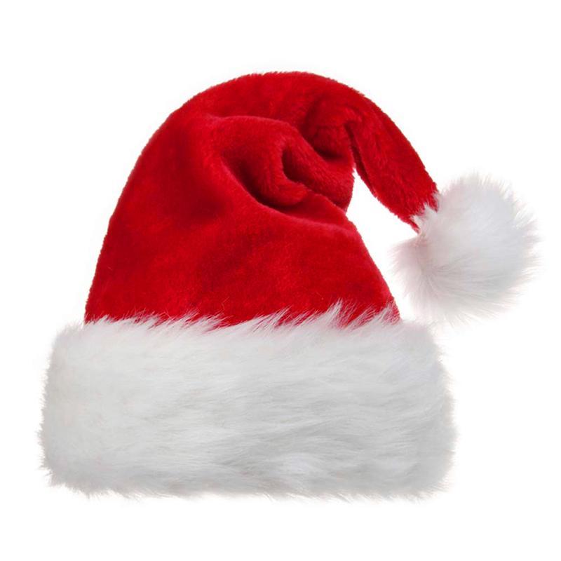 Noel Şapka Yetişkinler İçin Çocuk Noel Baba Noel Süsler Noel Şapka Parti Cap Noel Partisi Dikmeler Dekorasyon