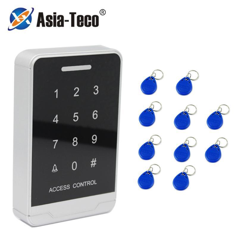 Контроль доступа отпечатков пальцев 125 кГц RFID машина клавиатуры цифровая сенсорная панель считывателя подсветки экрана автономной системы