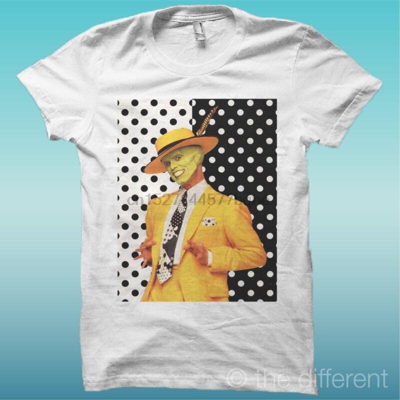 De la camiseta las MÁSCARA Jim Carrey WEI la dicha es tener MI CAMISETA NEU
