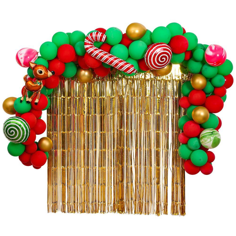 2020 Noel Balonlar Noel Malzemeleri Dekorasyon Balon Alüminyum Film Lateks Balon Kombinasyon Düzenlemesi Balon Noel