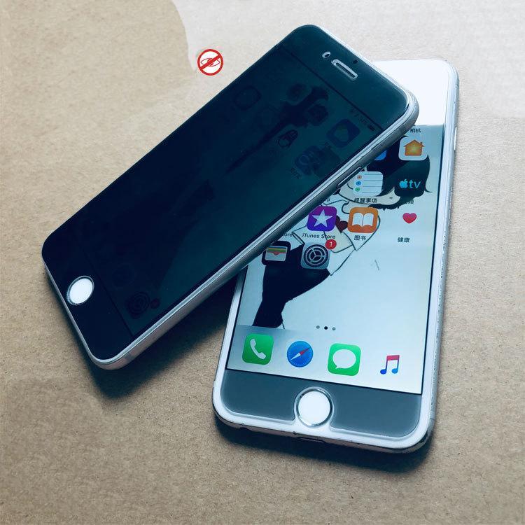 Para iPhone XS XR XS MAX Privacidade vidro temperado Anti-Spy protetor de tela sem pacote de varejo