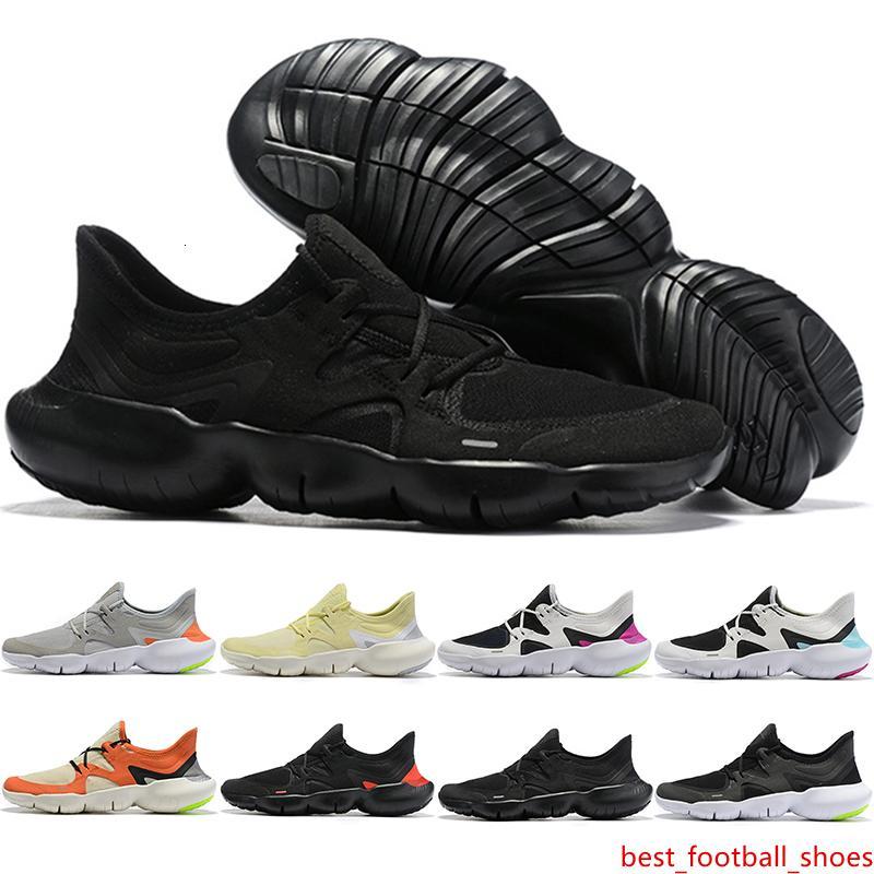 2019 RN libre 5.0 zapatos corrientes del mens diseñador de moda masculina Deportes zapatillas de deporte frescas del verano zapatos transpirables RUN mujeres ligeros de cuello 36-45