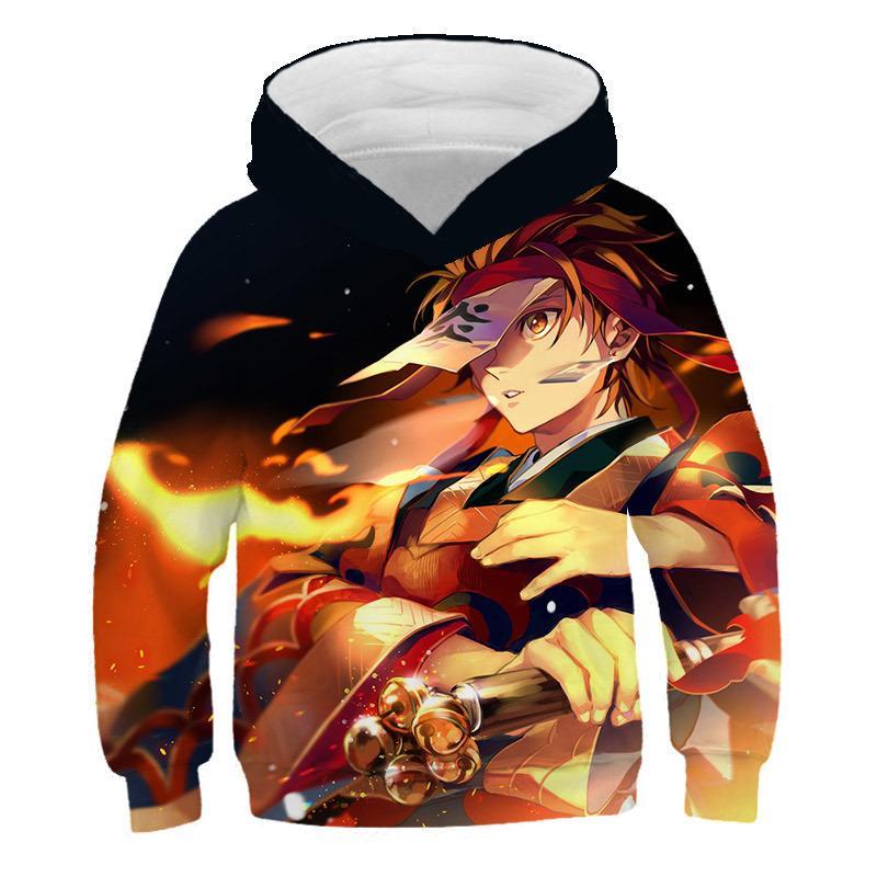 hoodies tueur Cartoon Devils garçons filles d'automne sweat à capuche et hoodies de hip hop d'hiver Hauts enfants Casual sweat à capuche T200917