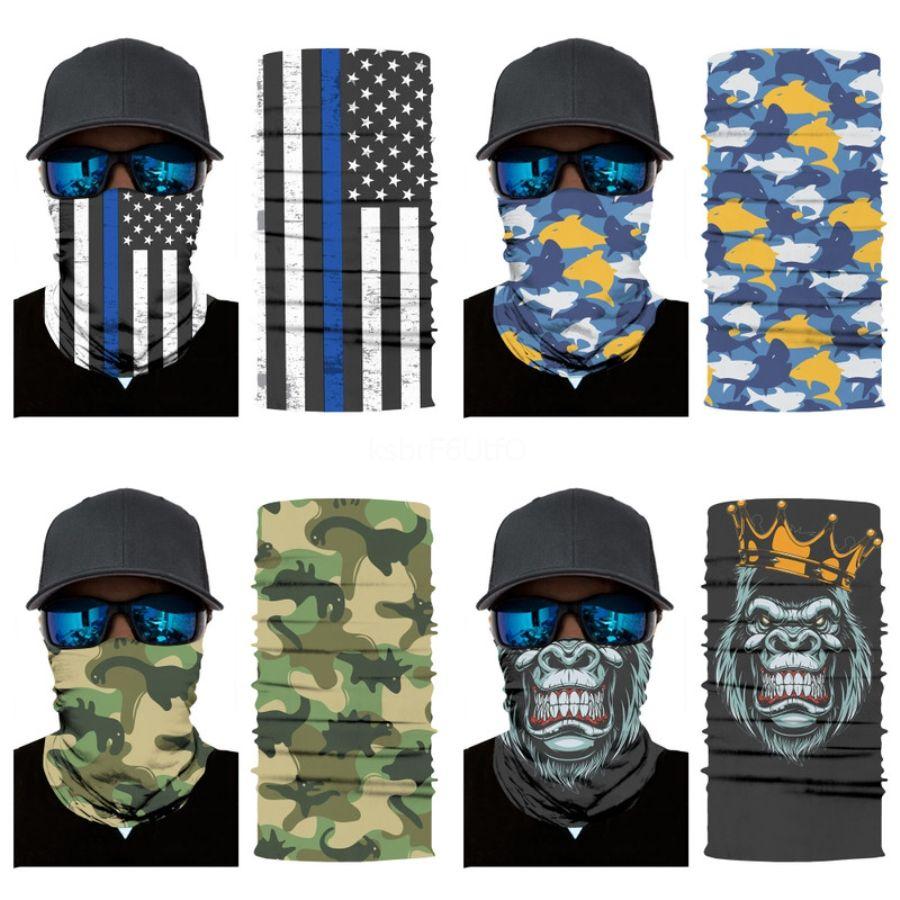 Viso MaskswashableFacemask adulti Stampa Sciarpa e maschere ForProtection traspirante # 930