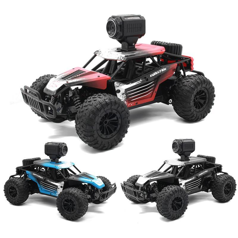 20km/h 2.4G Remote Control Car High Speed Electric Off-road Vehicle Mobile Phone Wifi Link Control with HD Camera Kids Birthday Gift Good