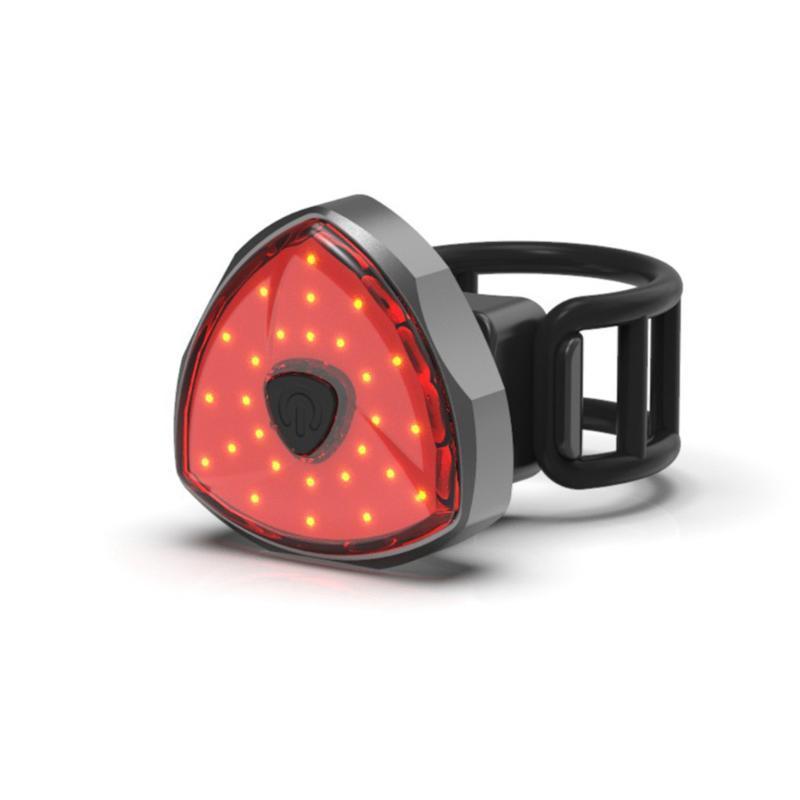Bisiklet Taillight Su geçirmez Binme Arka ışık Bisiklet Kuyruk Işık Bisiklet Güvenlik Bisiklet Uyarı Arka Lamba LED USB Şarj Edilebilir